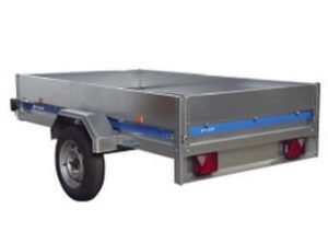 trailer hire open top