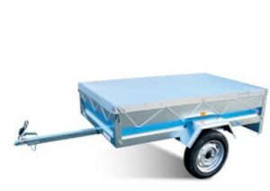 utility trailer canvas roof