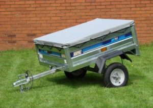 utility trailer rental canvas roof