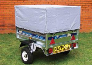 small covered trailer canvas roof