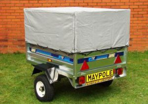 small trailer canvas roof