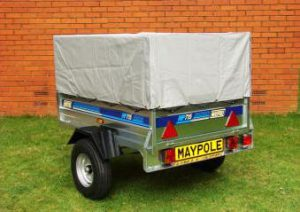 trailer rental canvas roof